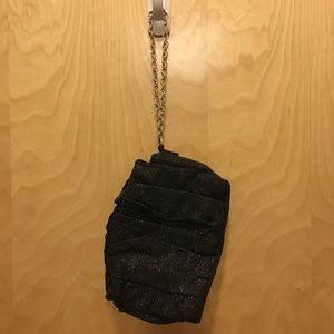 Apt 9 Black Sparkly Clutch